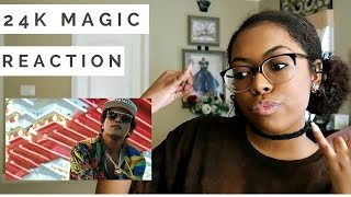 Bruno Mars 24k Magic Reaction
