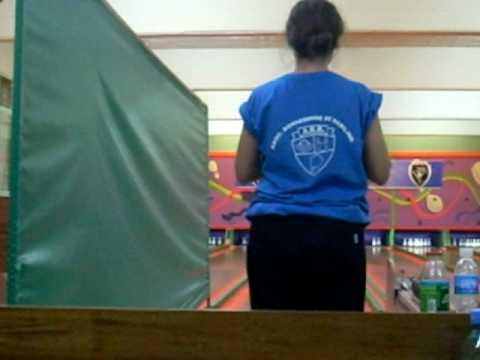 Nadia campeona argentina de bowling