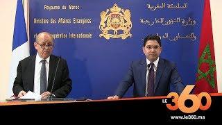 Le360.ma •Voici les autres points principaux évoqués à Rabat par Bourita et Le Drian