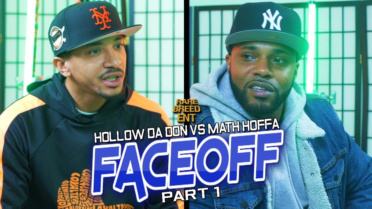 HOLLOW DA DON VS MATH HOFFA FACEOFF PART 1 - RBE