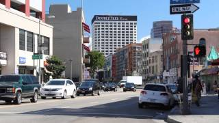 A Walk Up Los Angeles Street, Downtown Los Angeles
