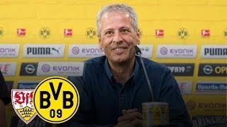 Endlich wieder Bundesliga! | PK mit Favre und Zorc | VfB Stuttgart - BVB