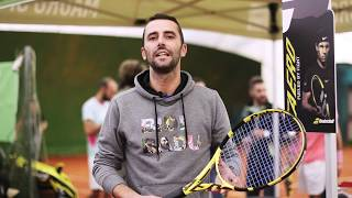 REVIEW + DEMO DAY Babolat Pure Aero 2019!