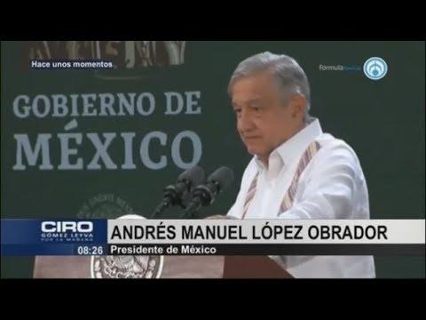 """AMLO se burla de Calderón y le llama """"Comandante Borolas"""""""