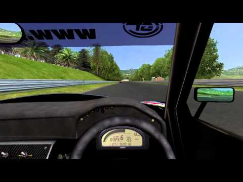GTR2 : Russian Roulette With Tire Barriers (Lister @ Enna Pergusa)
