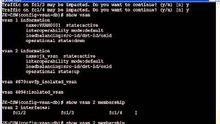 san creating and deleting a vsan virtual san in the cisco mds switch