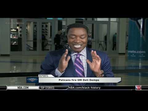 Isaiah Thomas & Hamilton STUNNED Pelicans fire GM Dell Demps & All-Star Memories | NBA Gametime
