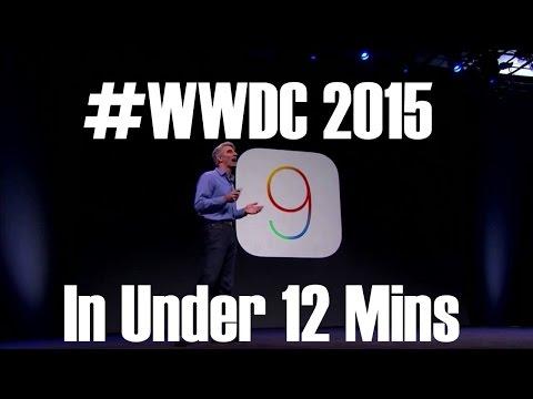 Apple WWDC 2015 Keynote Highlights   iOS 9   Apple Music   OS X El Capitan   Watch OS 2