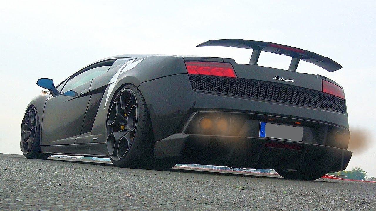 Lamborghini Gallardo Lp 570 4 Superleggera Loud Sounds Youtube