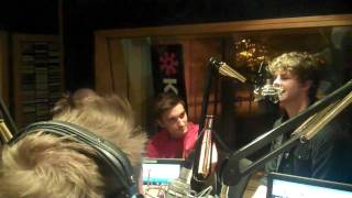 The Wanted In The Studio