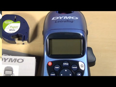 Dymo LetraTag LT-100H Personal Laser Label Maker Printer with ABC Keyboard review