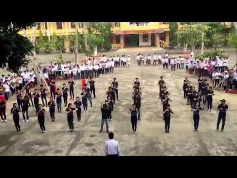 Flashmob tặng thầy 20-11 tập thể lớp 12A3 ( 2013-2016 ) THPT Trần Phú - Hà Tĩnh