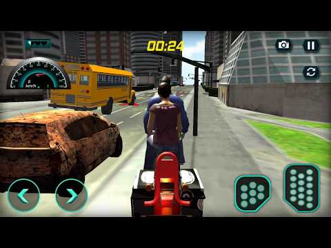 UK Bus Bike Zombie Rescue 3D / Android Game / Game Rock