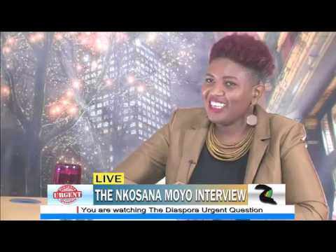 Dr Nkosana Moyo at Zimbo Live TV - The Zimbabwe we want