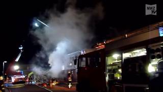Brand in Nordenham: Rund 80.000 Euro Schaden