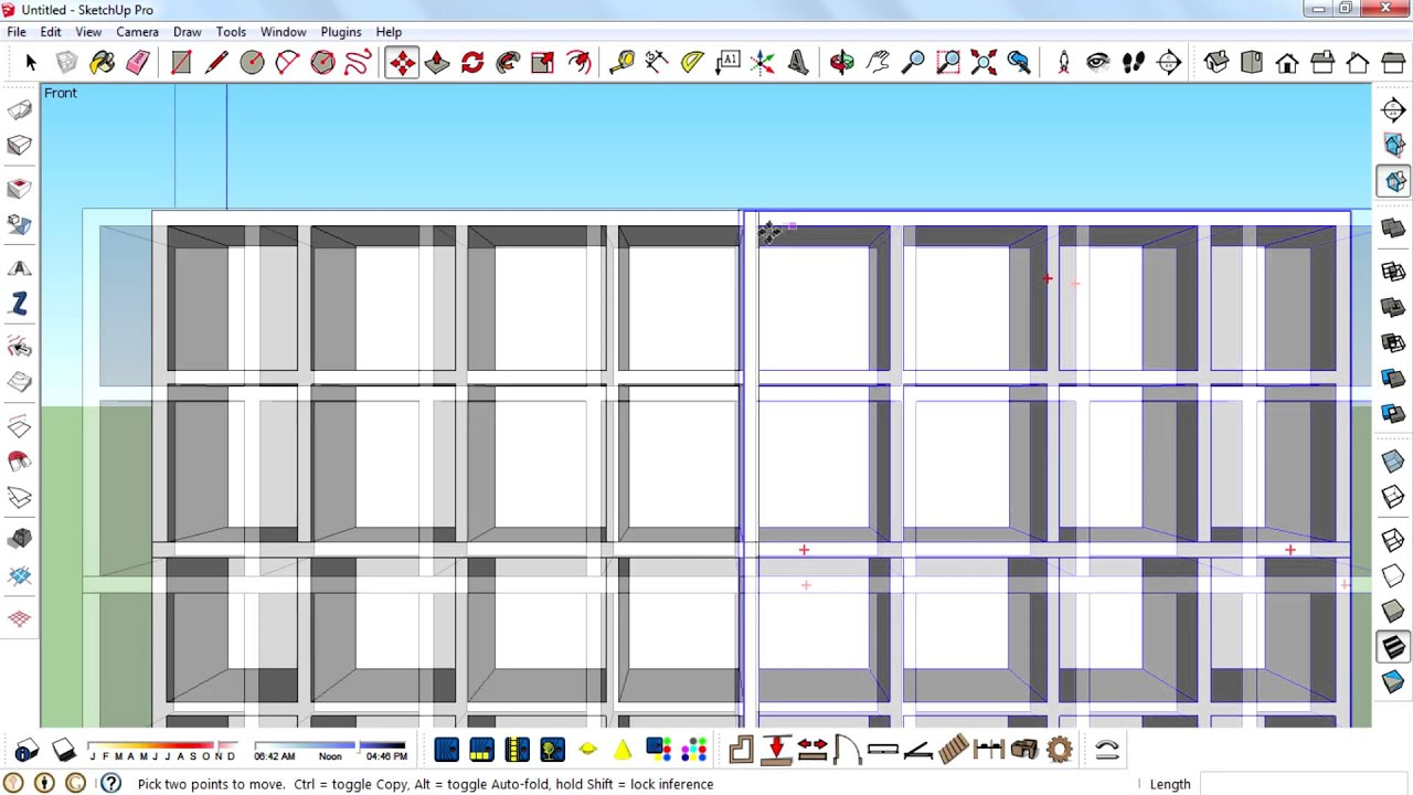 How To Make A Shelf In Sketchup Youtube