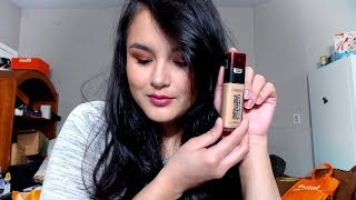 L'Oreal Infallible 24 Hr FreshWear Foundation REVIEW!!