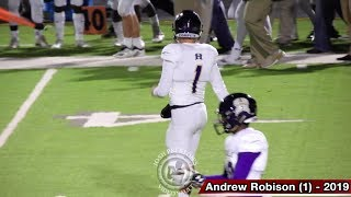 (22) Hahnville vs. (11) Walker Highlights - Andrew Robison picks apart Wildcats in 2nd game back