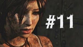 Tomb Raider Gameplay Walkthrough Part 11 - Most Brutal Death (2013)