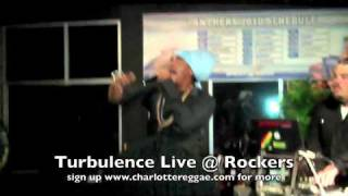 Turbulence Live @ Rockers... Natty pon the Front Line