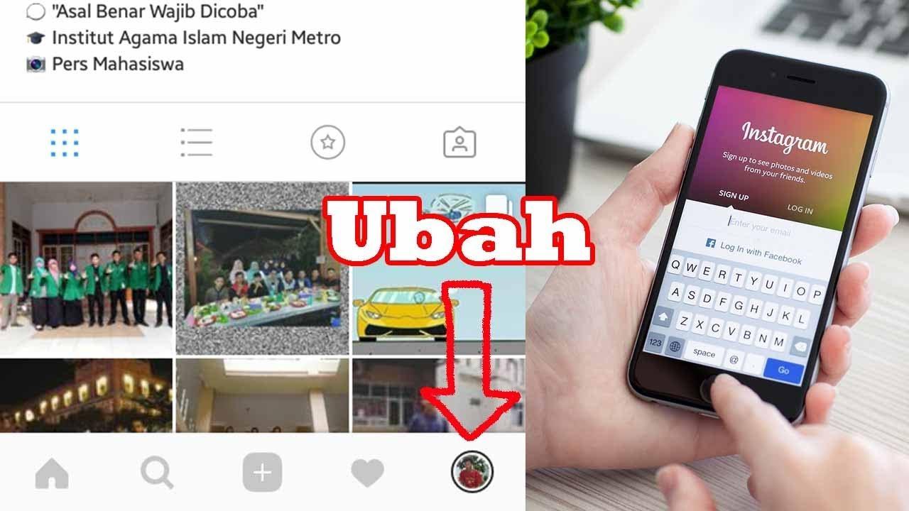 Cara Mengganti Icon Profil Di Instagram Menjadi Foto Youtube