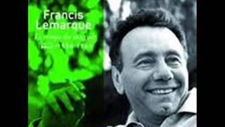 """je chante """" le temps du muguet """" de francis lemarque"""