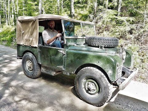 The Baltic Express Part 5. Land Rover Series One Road Trip.