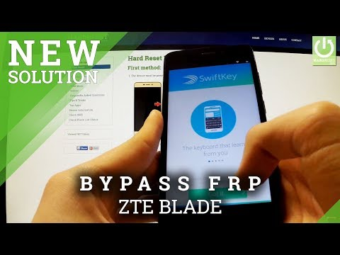 Bypass Google Account Protection in ZTE BLADE - How to Remove FRP