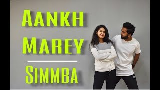 Aankh Marey | Simmba | Dance choreography | Cheatan Danza | Ranveer Singh | Rohit Shetty