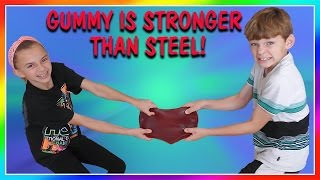 DID WE MAKE A GUMMY AS STRONG AS STEEL We Are The Davises