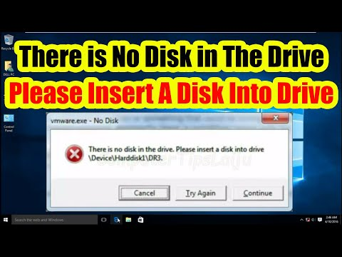 No disk: Please insert a disk into drive DeviceHarddisk1DR1 (Fix in Windows 7, 8, 10)
