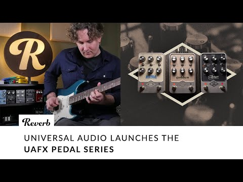 Universal Audio Launches UAFX: Golden, Astra, & Starlight | Tone Report Demo
