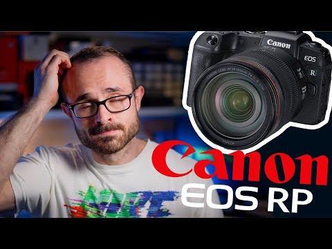Canon Eos Rp La Camara Fullframe Mas Barata Youtube