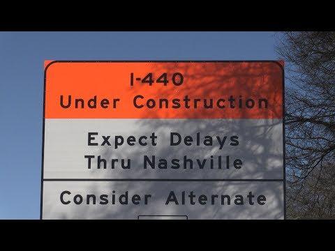 Construction on Interstate 440 in Nashville begins March 1