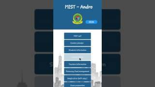 MIST Bangladesh android app - by Tanzim Hasan Fahim