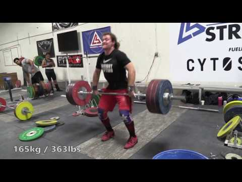 Lots of heavy cleans on friday and a visitor