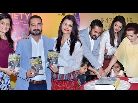 Aishwarya Rai at Parenting In the Age of Anxiety Book Launch