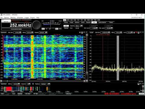 252 AM Chaine 1 Algeria MW radio station into Tampa Florida