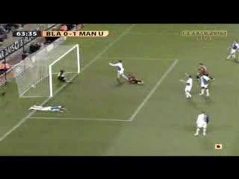 Blackburn 0-1 Manchester United Louis Saha