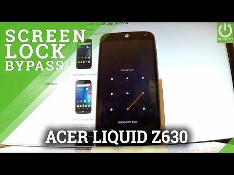 Hard Reset ACER Liquid Z630 - Bypass Screen Lock / Factory Reset