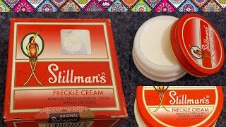 Stillmans Freckle Cream Review, Unboxing, Uses, Benefits, Side effects || Freckles Removal Cream