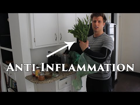 POWERFUL Anti-Inflammatory Green Smoothie   For Joint Pain