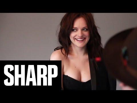 Mad Men's Elisabeth Moss x Sharp Magazine (SHARP - A Behind-The-Scenes Look)