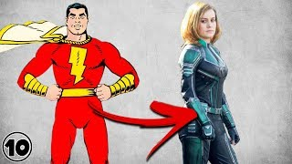 The History Of Captain Marvel