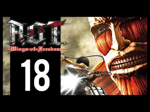 Attack On Titan: Wings Of Freedom - Gameplay Walkthrough Part 18 - Surveying Missions (PS4)