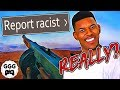 I Got Reported For Being RACIST By Salty Kid? (Chat Salt & Funny Hate Messages)