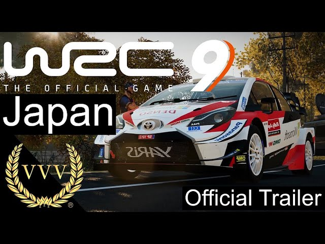 WRC 9 Japan Official Gameplay