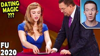 Magician REACTS to Magical Katrina Penn's DATING ADVICE on Penn and Teller FOOL US 2020