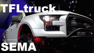 2015 Ford F-150 SEMA DIY Raptor: Yes, a Do-It-Yourself Raptor(http://www.TFLtruck.com ) Next year in 2015 there will be no Ford F-150 SVT Raptor Pickup Truck because the 2015 Ford F-150 is all new.But that doesn't mean ..., 2014-11-08T22:33:34.000Z)