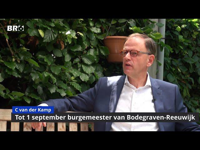 Christiaan van der Kamp wisselt van pet
